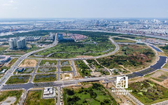 Thành phố Thủ Đức và trung tâm thương mại dịch vụ tài chính tại Khu đô thị mới Thủ Thiêm