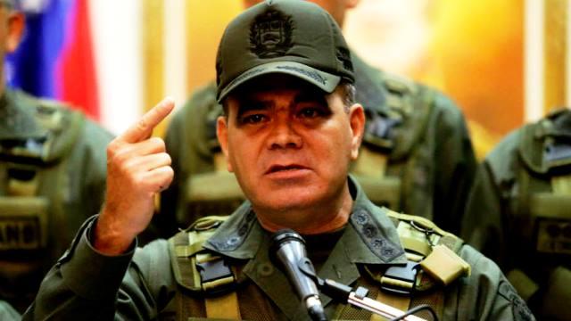 El ministro de la Defensa, Vladimir Padrino López,
