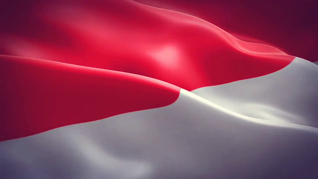gambar bendera indonesia keren
