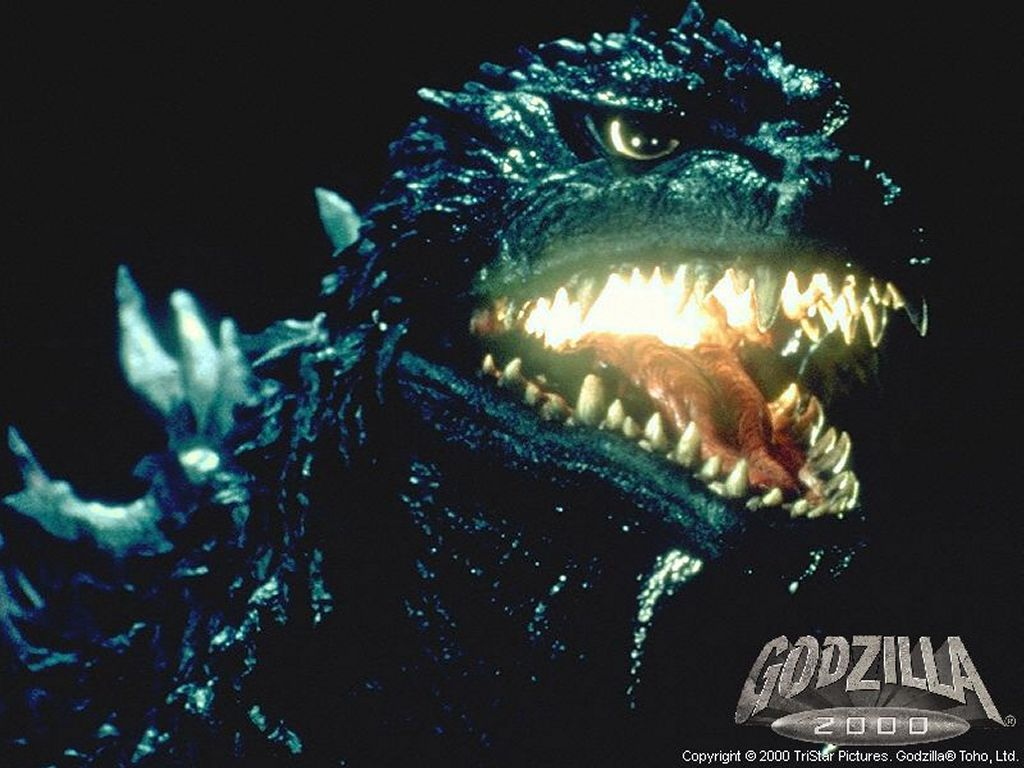 The Cathode Ray Mission: Hump Day Posters: Godzilla 2000 ...