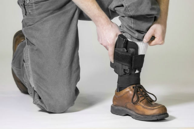 Benefits of Using an Ankle Hoster for Concealed Carry