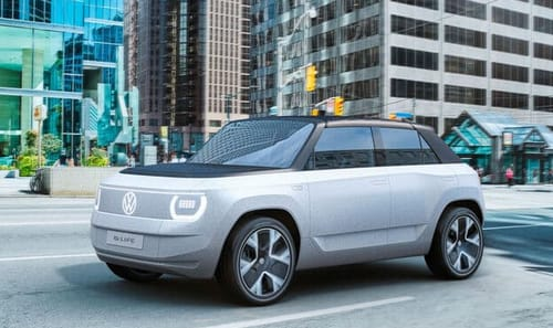 Volkswagen has a small electric car suitable for the city