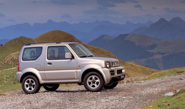Suzuki Jimny facelift 2013