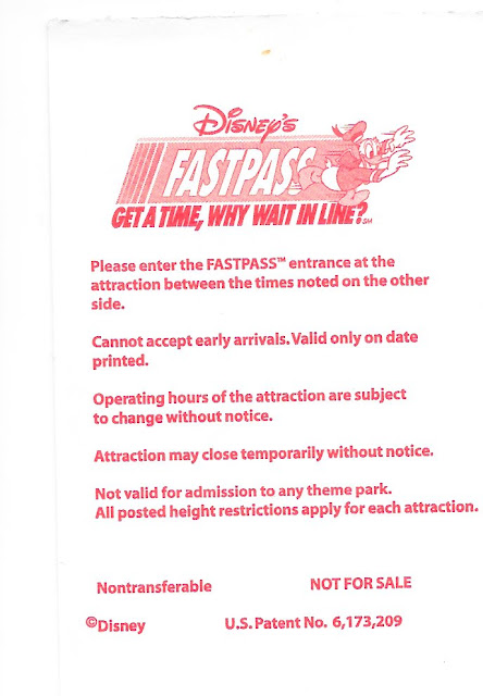 Fastass Instructions Disney World