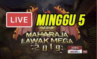 Live Streaming Maharaja Lawak Mega 29.11.2019 (MINGGU 5).