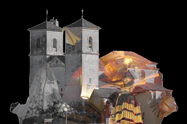 Iglesia de campo Real Foto montaje