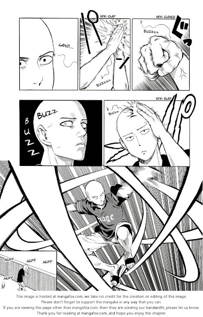 ONE PUNCH MAN CHAPTER 5 page 6