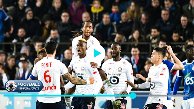 Strasbourg vs Lille – Highlights