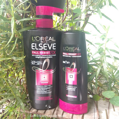 Review L'Oreal Paris Elseve Anti Hairfall Shampoo & Conditioner