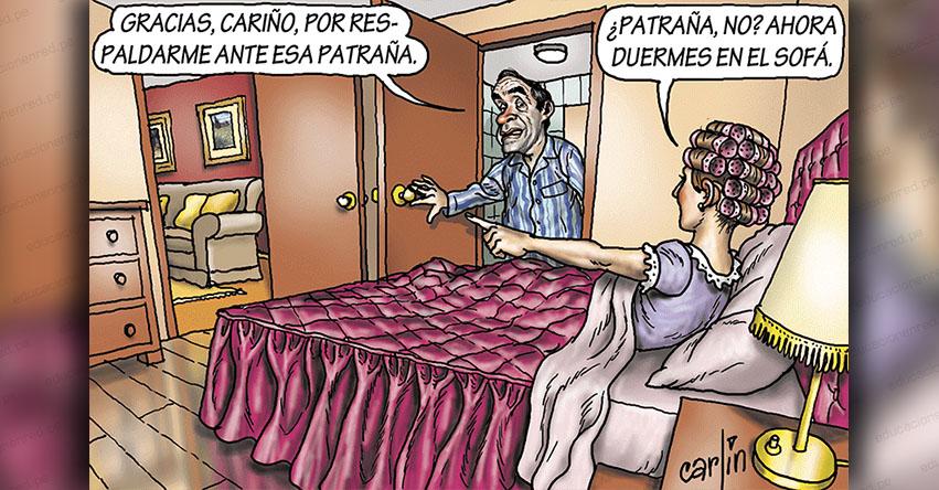Carlincaturas Jueves 7 Marzo 2019 - La República