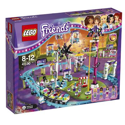 TOYS : JUGUETES - LEGO Friends  41130 Parque de Atracciones : Amusement Park  Producto Oficial 2016 | Piezas: 1124 | Edad: 8-12 años  Comprar en Amazon España & buy Amazon USA