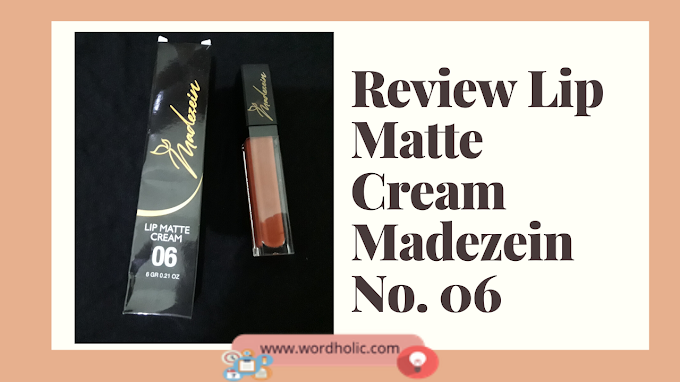 Review Lip Matte Cream Madezein No. 06