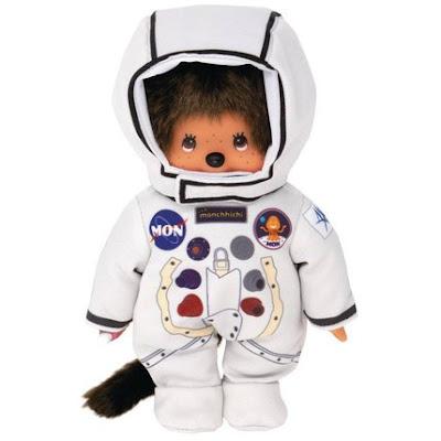 Kiki Monchhichi astronaute cosmonaute spationaute nouveauté