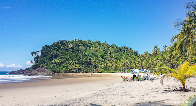Prainha, Itacaré, Bahia