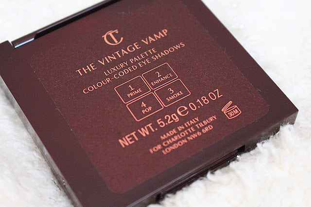 Charlotte Tilbury The Vintage Vamp Palette Blog Review
