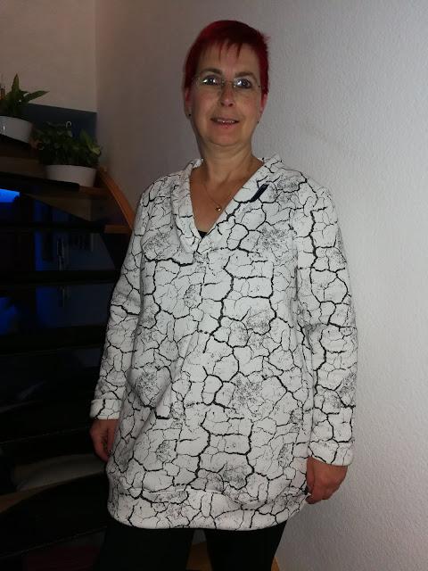 Schnittmuster Pullover Lady V Gr. 42-58 von Boerlinerin