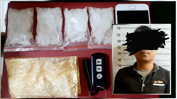 Seorang Polisi di Aceh Ditangkap karena Terlibat Jaringan Pengedar Narkoba