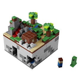 Minecraft The First Night Lego Set