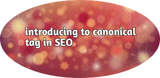 Introducing to canonical tag