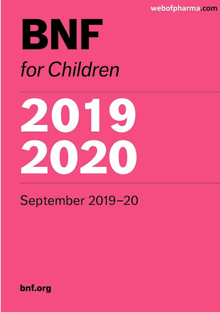 BNF for Children 2019-2020 pdf free download