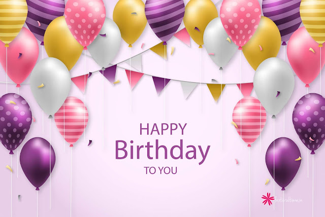 Happy Birthday wishes-www.festivaltime.in