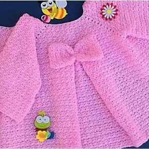 Abrigo Lazo Crochet