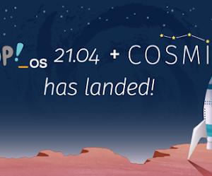 Pop!_OS 21.04 arriva con la nuova interfaccia COSMIC