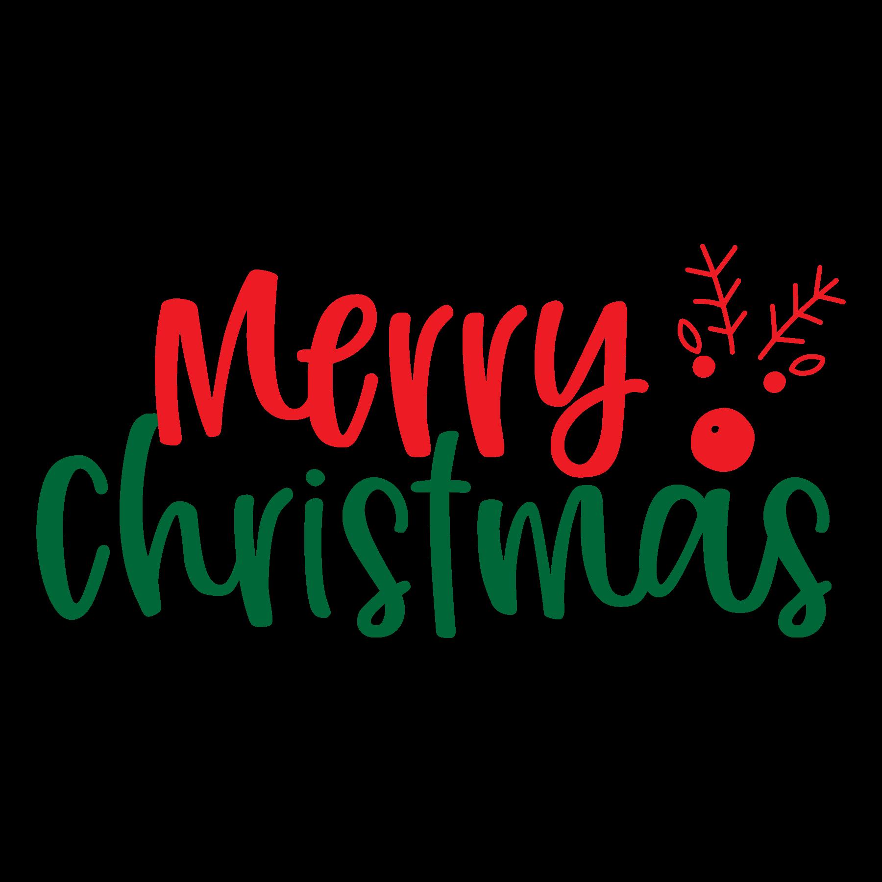Merry Christmas SVG Cut Files
