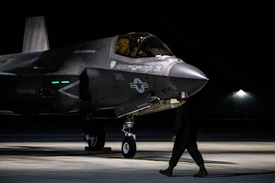 Marines F35B Queen Elizabeth