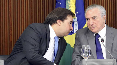 Rodrigo Maia diz que seu apoio a Temer não está garantido