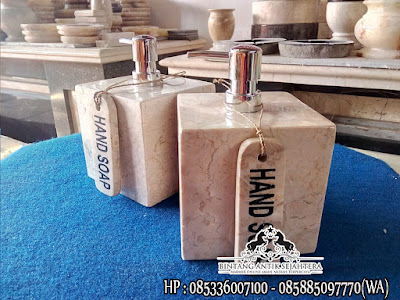 Set Aksesoris Kamar Mandi | Bathroom Set Marmer