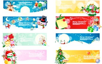 Vector Christmas Banners 11