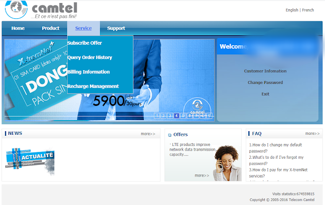 How to Subscribe to Camtel Cameroon Offers2