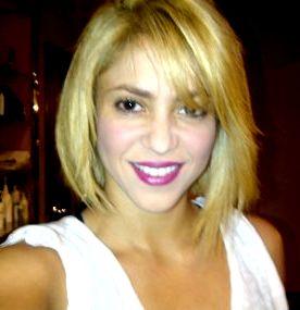 Foto de Shakira con cabello corto