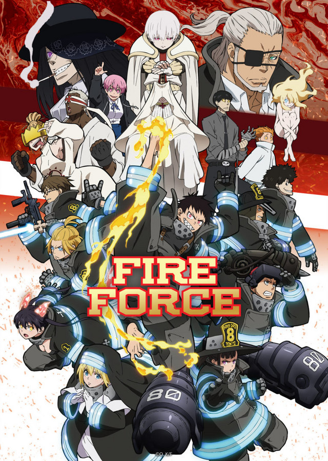 Póster de la segunda temporada de Fire Force