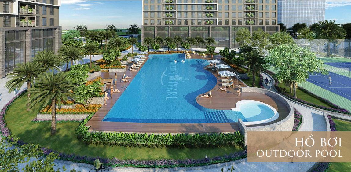 bể bơi chung cư roman plaza