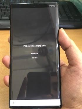 Galaxy Note10+ SC-01M Unlock Network - Mở Mạng