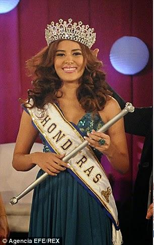 Sa dva metka u ledja ubijena miss Honduras
