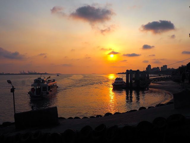 Sunset at Tamsui, Taipei, Taiwan