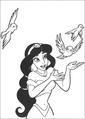 Disney Princess Coloring Pages To Celebrate Valentine S Day