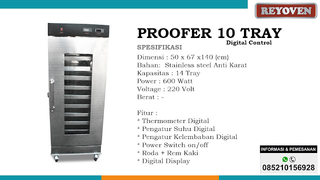 Proofer 10 Tray Digital Control