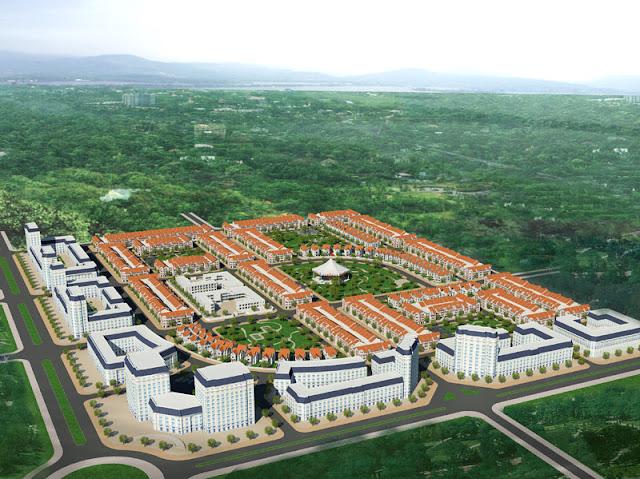 Phối cảnh khu đô thị Dabaco Vạn An, TP. Bắc Ninh