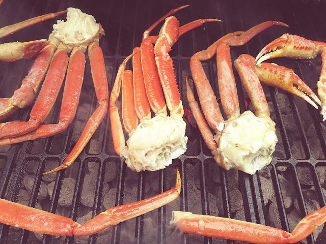 Grilling Snow Crab Legs