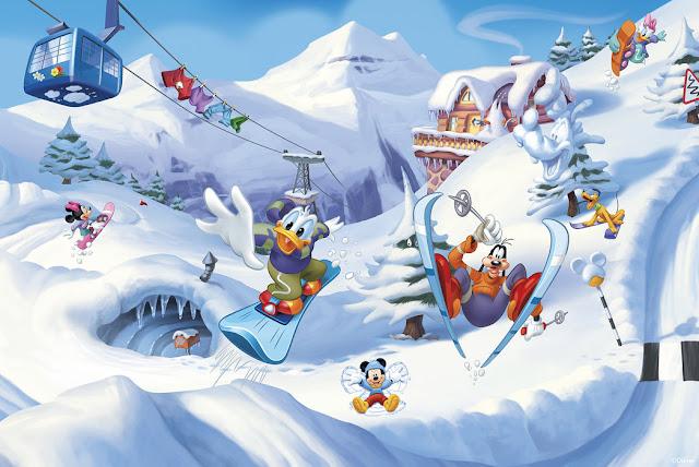 Mikki Hiiri tapetti Mickey Mouse lapsia Disney Aku Ankka