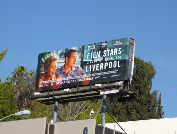 Film Stars Dont Die in Liverpool billboard