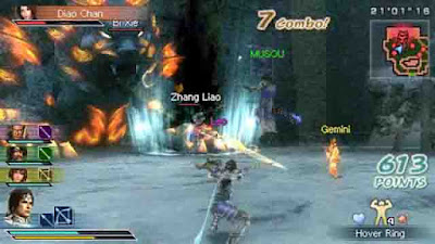 Download Game Dynasty Warriors Strikeforce ISO PSP (PC)