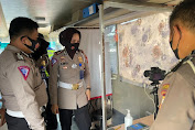 Kanit Regident SIM Polrestabes Makassar Tinjau Persiapan Kendaraan SIM Keliling