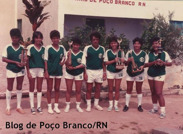 Resultado de imagem para HISTÓRIA DO ALECRIM FUTEBOL CLUBE DE POÇO BRANCO RN