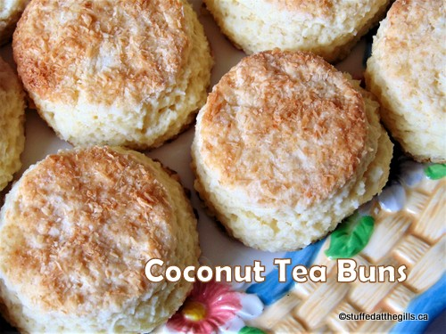 Coconut Tea Buns