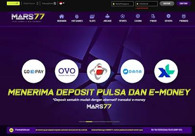 Judi Slot Online Terbaru Deposit via Pulsa & E-Money